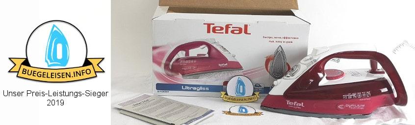 Tefal FV4920 Testsieger im Bügeleisen Test.